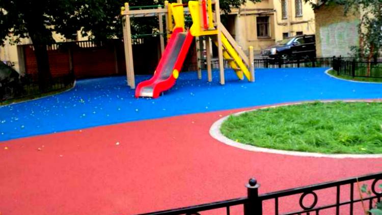 клумбы на детских площадках