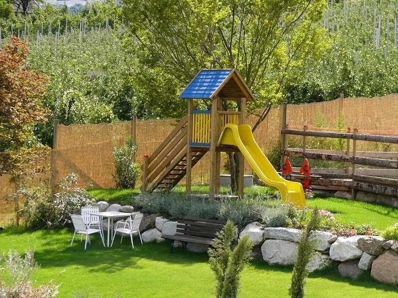 детские игровые площадки для детских садов из дерева